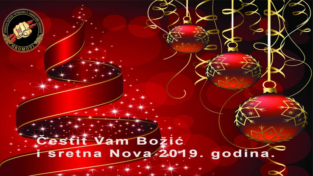 Sretna nova godina 2019